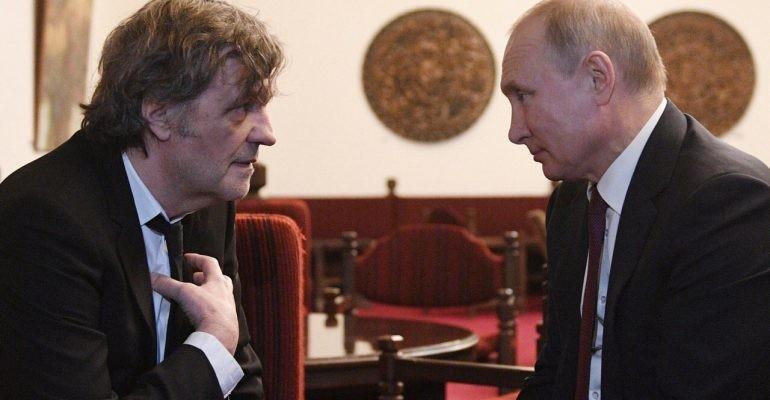 Кустурица и Путин