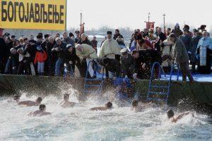 плавание за Крестом