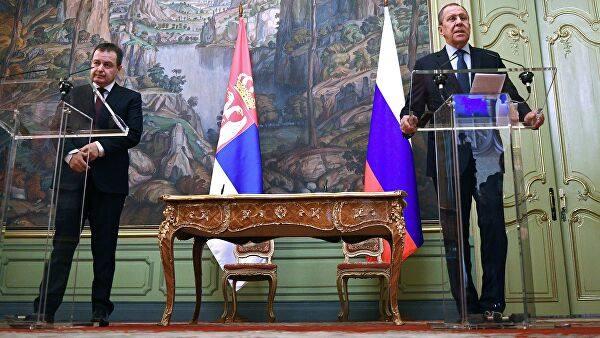 С. Лавров и И. Дачич обсудили Косово