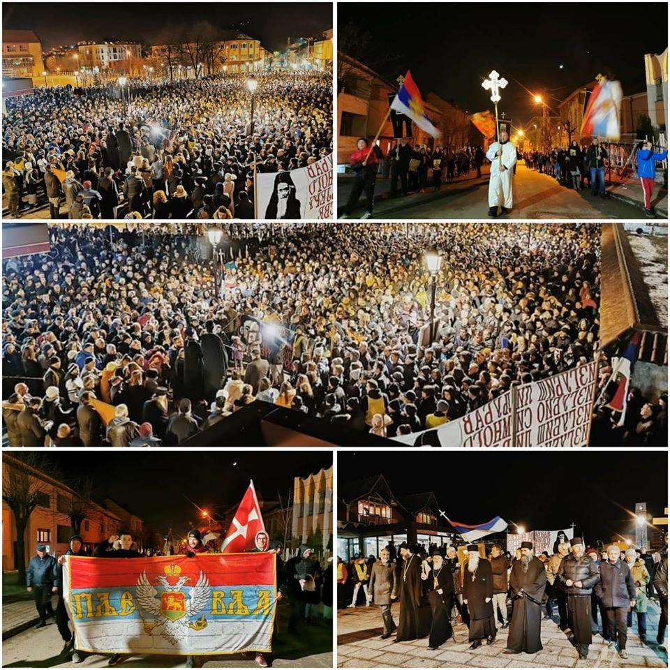 Протесты в Черногории поддержал Новак Джокович