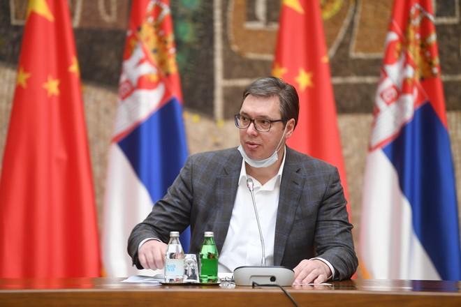 Президент Сербии Коронавирус