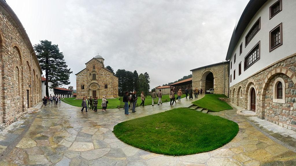 Монастырь Dečane в Сербии (Високи Дечани в КиМ)