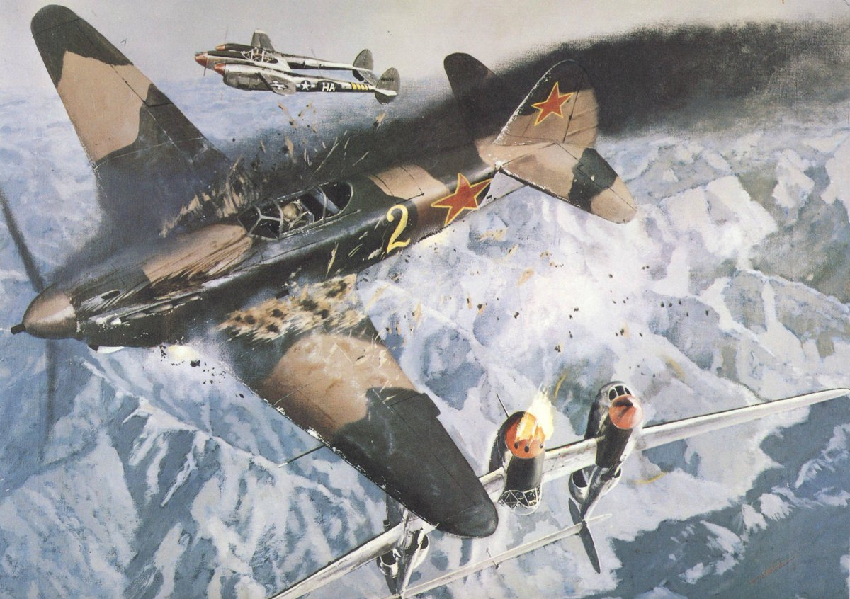 Бой над Нишем – единственный конфликт Советов и американцев