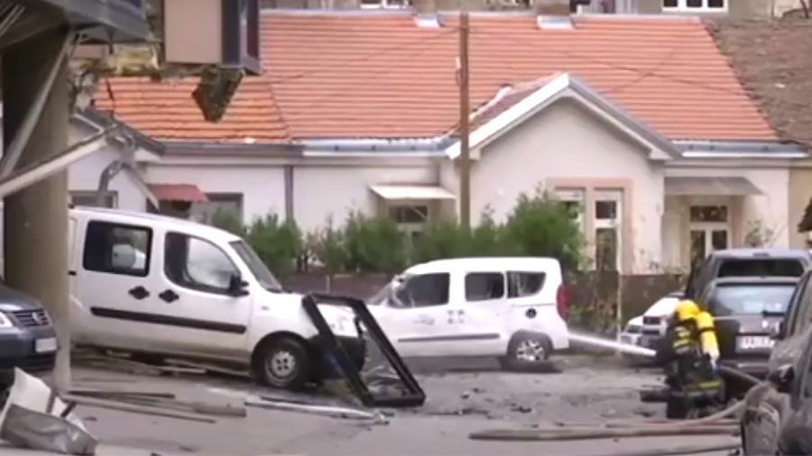 Взрыв произошел на стройплощадке в Белграде