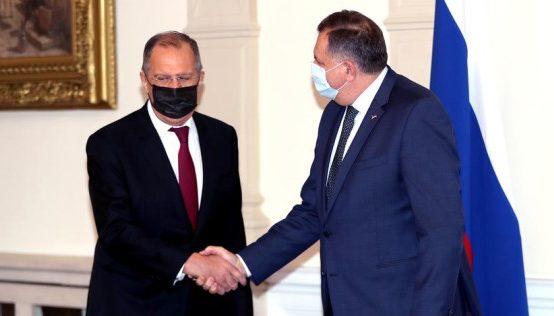 Милорад Додик и Сергей Лавров