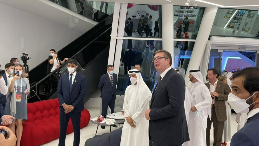 Вучич на EXPO 2020