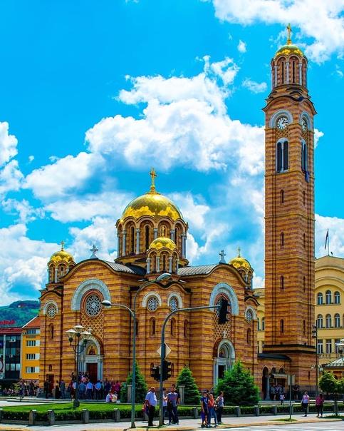 Храм Христа Спасителя - главный Храм Республики Сербской