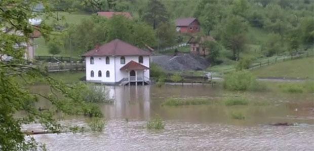 Наводнение в Республике Сербской!